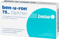 BEN-U-RON 75 mg Suppositorien - 10St