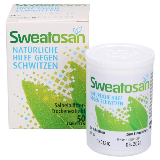 Salbei tabletten gegen schwitzen