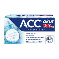 ACC akut 600 Brausetabletten - 20St