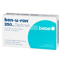 BEN-U-RON 250 mg Suppositorien - 10St