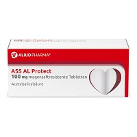 ASS AL Protect 100 mg magensaftres.Tabletten - 100St