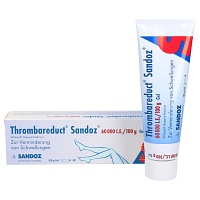 THROMBAREDUCT Sandoz 60.000 I.E. Gel - 100g