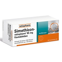 SIMETHICON-ratiopharm 85 mg Kautabletten - 100St