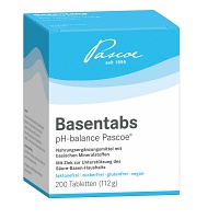 BASENTABS pH Balance Pascoe Tabletten - 200St