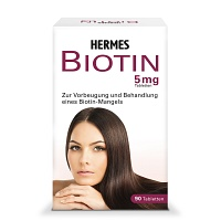 BIOTIN HERMES 5 mg Tabletten - 90St