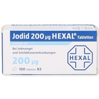 JODID 200 HEXAL Tabletten - 100St