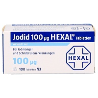 JODID 100 HEXAL Tabletten - 100St