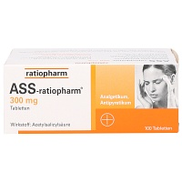 ASS ratiopharm 300 mg Tabletten - 100St
