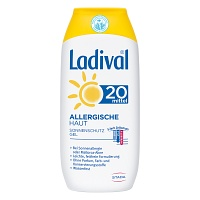 LADIVAL allergische Haut Gel LSF 20 - 200ml