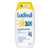 LADIVAL allergische Haut Gel LSF 30 - 200ml