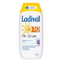 LADIVAL Kinder Sonnenmilch LSF 30 - 200ml