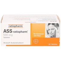 ASS ratiopharm 500 mg Tabletten - 100St