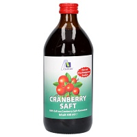 CRANBERRY SAFT 100% Frucht - 500ml - Blase