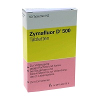 ZYMAFLUOR D 500 Tabletten - 90St