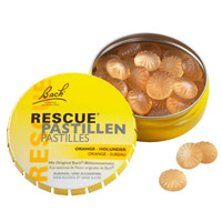 BACH ORIGINAL Rescue Pastillen Orange Holunder - 50g