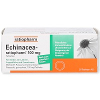 ECHINACEA-RATIOPHARM 100 mg Tabletten - 50St
