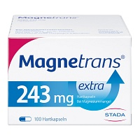 MAGNETRANS extra 243 mg Hartkapseln - 100St