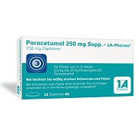 PARACETAMOL 250 mg-1A Pharma Suppositorien - 10St