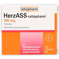 HERZASS-ratiopharm 100 mg Tabletten - 100St