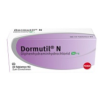 DORMUTIL N Tabletten - 20St