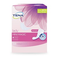 TENA LADY mini magic Einlagen - 34St