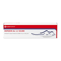 HEPARIN AL Gel 50.000 - 100g