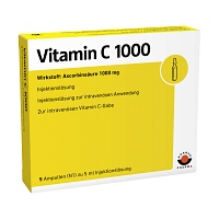 VITAMIN C 1000 Ampullen - 5X5ml