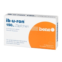IB-U-RON 150 mg Suppositorien - 10St