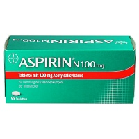 ASPIRIN N 100 mg Tabletten - 98St