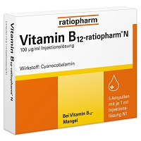 VITAMIN B12-RATIOPHARM N Ampullen - 5X1ml