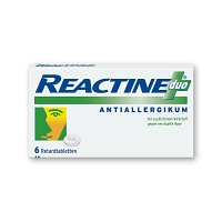 REACTINE duo Retardtabletten - 6St