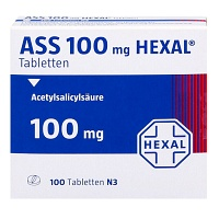 ASS 100 HEXAL Tabletten - 100St