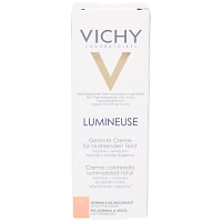 VICHY LUMINEUSE Mate peche normale/Mischhaut Creme - 30ml - Getönte Pflege & Make-up