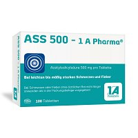 ASS 500-1A Pharma Tabletten - 100St
