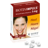 BIOTIN IMPULS 5 mg Tabletten - 100St