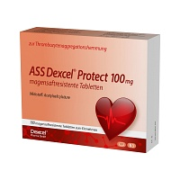 ASS Dexcel Protect 100 mg magensaftres.Tabletten - 100St