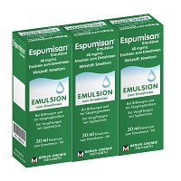 ESPUMISAN Emulsion - 3X32ml