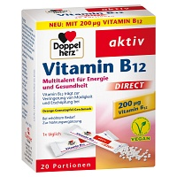 DOPPELHERZ Vitamin B12 DIRECT Pellets - 20St