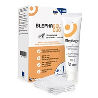 BLEPHAGEL Duo 30 g+Pads - 1P