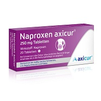 NAPROXEN axicur 250 mg Tabletten - 20St